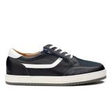 L1803/2 Dark Blue Leather Combi