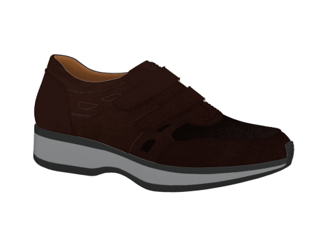 N1604/4 Brown Nubuck