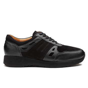 Mason  - L1672/5 Black Leather Combi