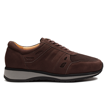 Mason  - N1604/4 Brown Nubuck
