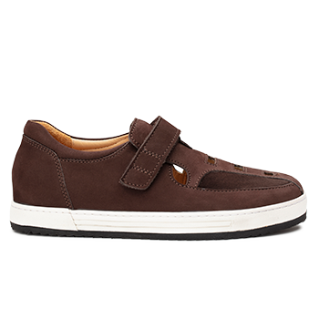 Simon  - N1604/2 Brown Nubuck