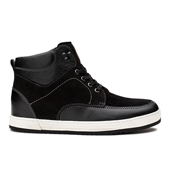 L1672/1 Black Combi Leather