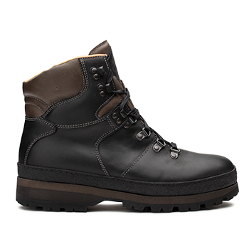 WP592 Black Waterproof Wax Leather