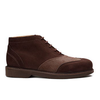Aaron  - N1604/1 Brown Nubuck