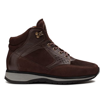 Perry  - N1604/3 Brown Nubuck Combi