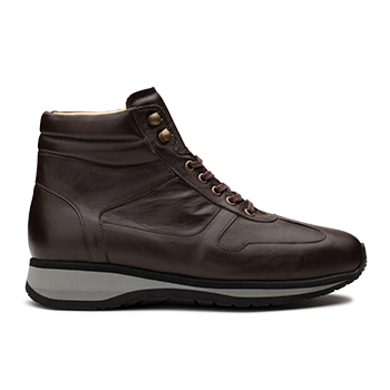 Derrel  - L1674 Dark Brown Leather