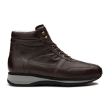 L1674 Dark Brown Leather
