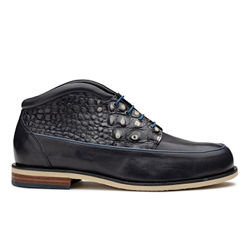 Jan Janssen 201 - JJN057 Navy Fantasy Leather Combi