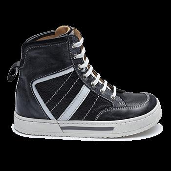 J846/M1402 Polished Leather Black Combi