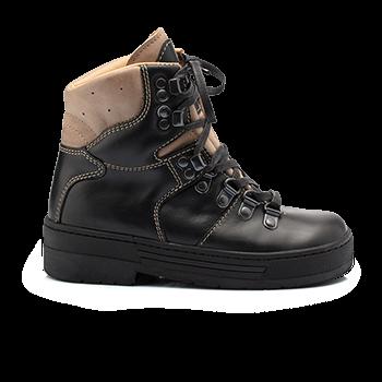 Berg  - WP592/WP590 Waterproof Leather Black Combi