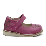 R577 Waxed Leather Fuchsia