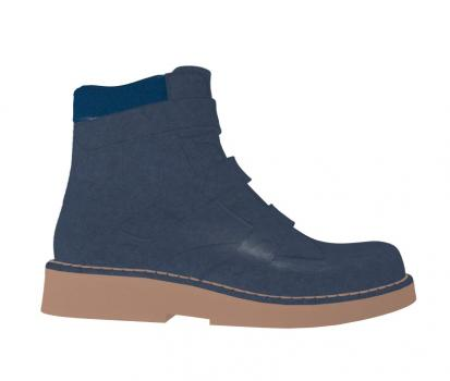 V1430/P497 Nappa Blue