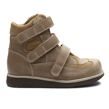 Spike  - R555/P1668 Waxed Leather Brown Combi