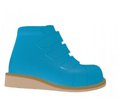 P1672 Split Suede Blue