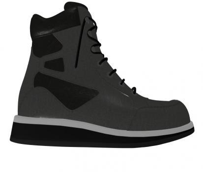 R502/P452 Nappa Black Combi