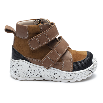 Michael  - NM1902/P407 Waxed Leather Brown Combi