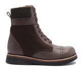 011 Brown leather