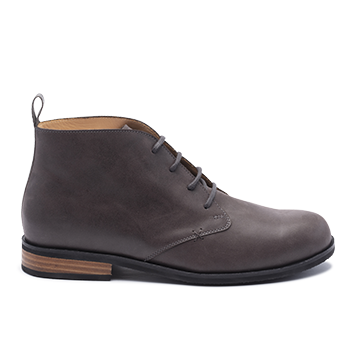 023 Grey leather