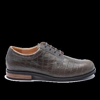 028 Grey fantasy leather