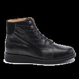 034 Black shinny leather