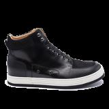 039 Black grain leather