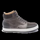 040 Grey grain leather