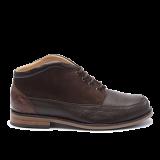 043 Brown grain leather
