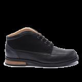 044 Black grain leather