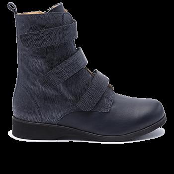 052 Navy fantasy leather