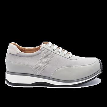 057 Grey leather