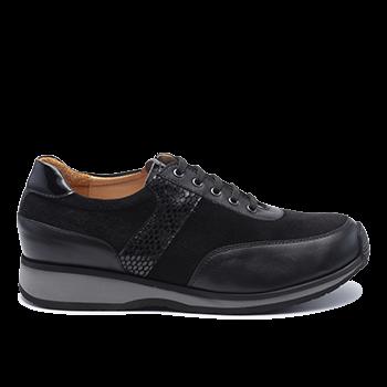 058 Black leather