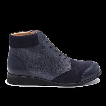 076 Navy fantasy leather