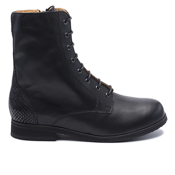 083 Black leather