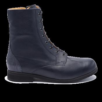 084 Navy leather