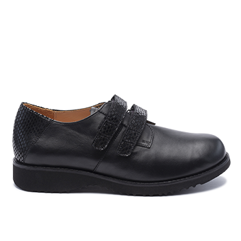 088 Black leather