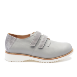 091 Grey leather