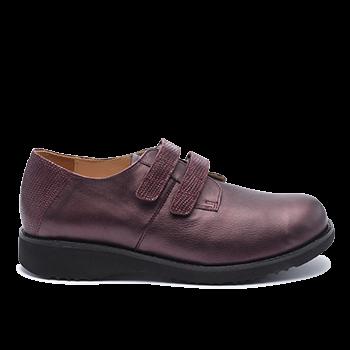 093 Bordeaux shinny leather