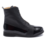 094 Black leather