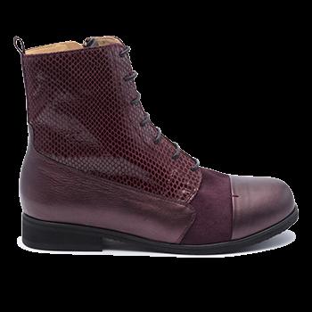 096 Bordeaux shinny leather