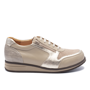 105 Taupe leather