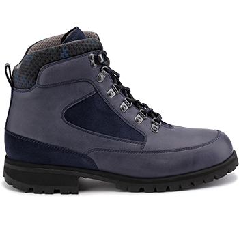 Everest - WP2001/P1653 waterproof leather navy combi