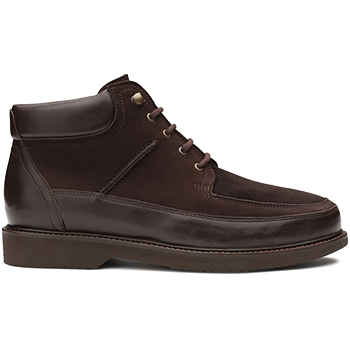 Brave - L1604/N1604 leather dark brown combi