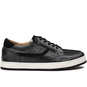 Walter - J846/X860 polished leather black combi