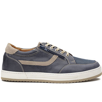Walter - V1420/X1820 leather navy/beige  combi