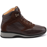 L1674/X864/N1604 leather dark brown combi