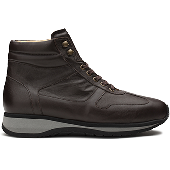 Derrel - L1674/X864 leather dark brown