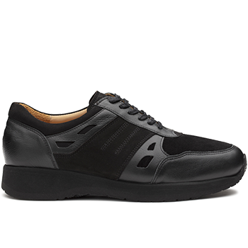 Mason - L1672/X872 leather black combi