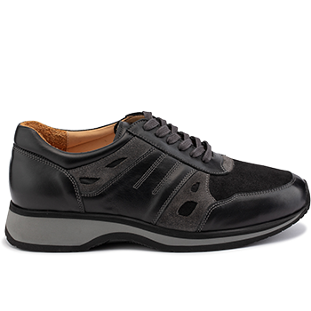 Mason - L1602/X860 leather black/grey combi