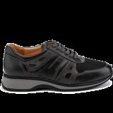 L1602/X860 leather black/grey combi