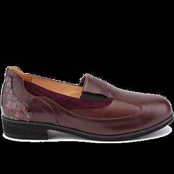 Michelle - L1605/X1504 fantasy leather bordeaux combi